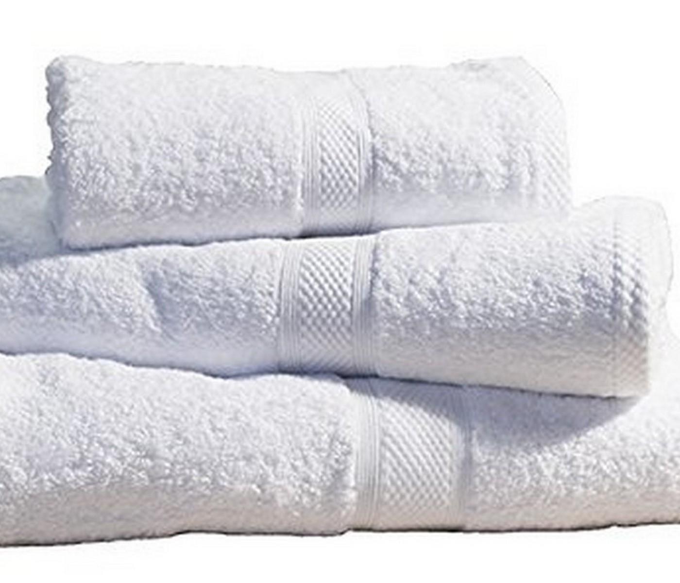 10 X LUXURY STRIPED HOTEL QUALITY 100/% EGYPTIAN COTTON WHITE BATH TOWEL 600GSM