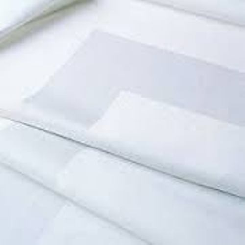 "Value Cotton Satin Band White Napkins 50x50cm (20"" Sq)"