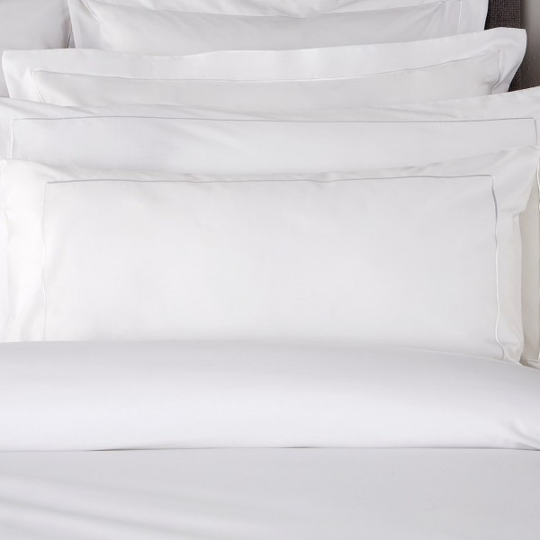 TC200 Egyptian 100% Cotton Plain Oxford Pillowcases (Pair)